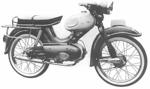 Moped 1964 Holland