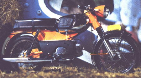 Moped RM 1972 Holland