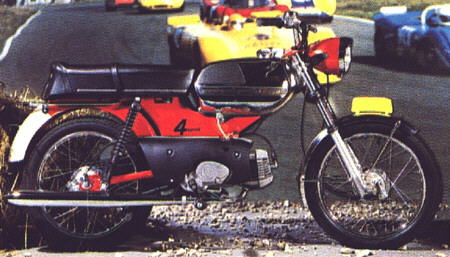 Moped RM 1973-74 Holland