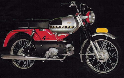 Moped RM 1975 Holland
